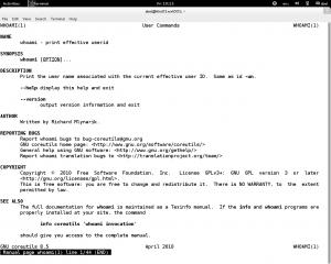 Debian man command linux