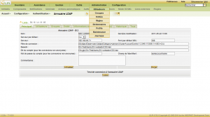 Synchronization LDAP Active Directory